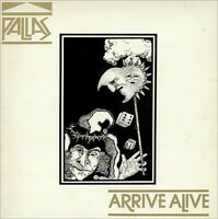 PALLAS Arrive Alive 1981 UK Vinyl LP EXCELLENT CONDITION in concert