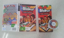 Blokus Portable Steambot Championship Sony PSP Game Complete Version
