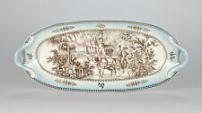 """Vintage style sandwich plate cake party tray serving tray high tea 37cm/14.75"""""""