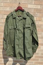 Canadian Force Combat Shirt OD Size 7346 L/XL Long New Genuine Military Issue