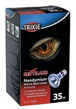 Neodymium Basking Spot Lamp Reptile Heat Bulb E27 Thread 35w