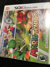 Mario Tennis Open (Nintendo 3DS, Brand New Factory Sealed Ripped On Corner Side