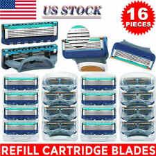 5-Layer Men' Shaving Blades For Gillette Fusion ProGlide Power Razor,fast 16Pcs
