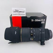 SIGMA 70-200mm F.2.8 APO per Canon Obiettivo Usato