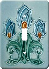 Art Nouveau Vintage Metal Switch Light Cover plate #117
