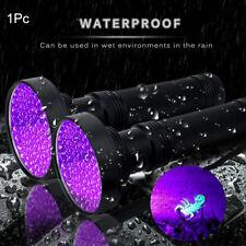 Hangable UV Light 395nM 100LED Flashlight Violet Spot Scorpions Outdoor Torch