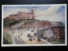 Isle of Man: Douglas Port Jack & BAY VIEW HOTEL - Old Postcard by Boots Cash Ch