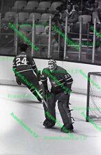 Ken Dryden MONTREAL CANADIENS goalie 35MM B/W negative HOCKEY  #d29mtl2w9