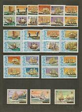PENRHYN 1981 SHIPS TO $6 SG166/208 MNH