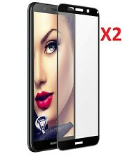 2 X for Huawei Honor 7s Tempered Glass Screen Protector Full Coverage