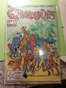 THUNDERCATS #1 Star Marvel Comic 1985 Lion-O Cheetara Panthro Tygra Key Crappy
