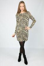 Vero Moda - Vmleo Savannah Animal Print Dress, Medium, Brand New