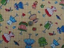 Tissu patchwork Vêtements Enfants Rétro Vintage Rare acheté USA  Michael Miller
