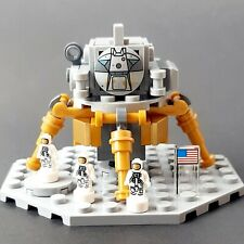 LEGO Ideas NASA Apollo 11 Lunar Lander Astronaut Microfigures Moon Landing 21309