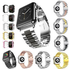 40 44mm Thin Cover Metal Band for Apple Watch Series 6 5 4 Stainless Steel Strap
