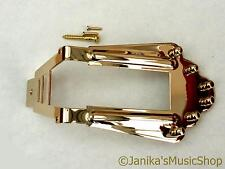 GOLD TAILPIECE Tail Piece + BORCHIE accoppiamenti SELMER macafferri Acoustic / JAZZ GUITAR