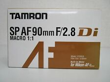 TAMRON single focus macro lens SP AF90mm F2.8 Di MACRO 1: 1 for Nikon full size