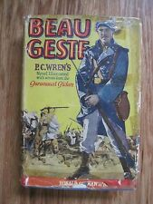 Beau Geste 1926 Book PC Wren's Novel Illustrated from the Paramount Picture With
