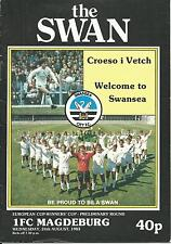 EC Swansea City-  FC Magdeburg  1983/84