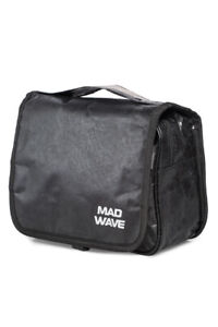 Mad Wave Beige Cosmetics Bag For Swimming Pool Functional Lightweight Durable