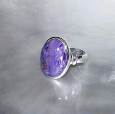 Charoit Ring, 925er Silber, Edelsteinring (21173), Edelsteinschmuck