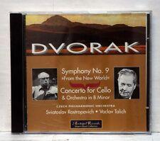 ROSTROPOVICH, TALICH - DVORAK symphony no.9, cello concerto ARCHIPEL CD NM