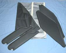 1966-67 gto new sun visors & headliner black perforated