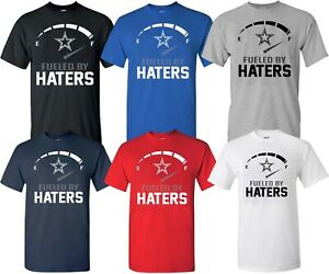 Dallas Cowboys  Fueled By Haters Multi-Colors T-Shirt Cowboys T-Shirt 2 - S-4XL