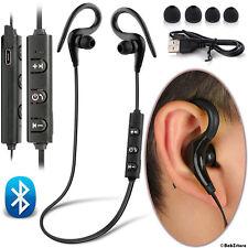 Sweatproof Wireless Bluetooth Earphones Headphones Sports Gym For iPhone Samsung