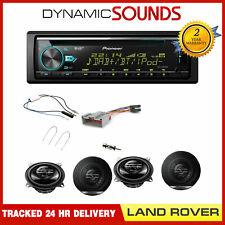 """Land Rover Defender 2013> DEH-X7800DAB & 4"""" Speaker Upgrade DAB Splitter Kit"""