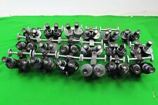 Job Lot of 18 BECK LONDON binomax vintage Microscope Oculaire avec objectifs