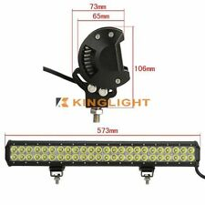 144W 23inch LED Light Bar CREE Work Light Spot Flood Driving Offroad 4WD SUV ATV