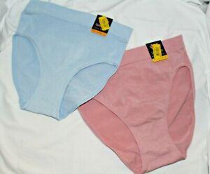 NWT~Wacoal B SMOOTH~FULL Brief Panty~nylon/spandex~seamless~838175~aqua~mauve