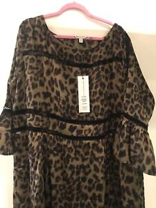 Anna Scholz Leopard Dress (uk 24), 50, 22
