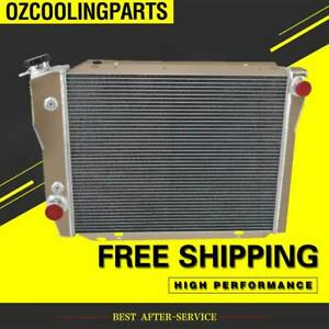 FOR FORD FALCON XA/XB/XC/XD/XE FAIRMONT CLEVELAND 302/351 V8 72-84 4ROW Radiator