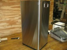 iTouchless 13 Gallon Stainless Steel Touchless Sensor Trash Can with AC Adapter,