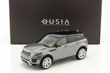 KYOSHO- RANGE ROVER EVOQUE CORRIS GREY 1:18 SCALE HIGH DETAIL OUSIA MODEL