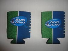 Bud Light Bud 2 Beer Can Wrap Coolers Koozie Coolie Hugie New