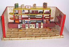 Alter Kaufmannladen mit interessanten Pappschachteln vor 1945 !