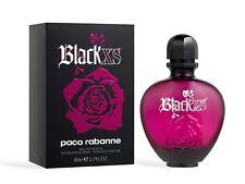 Black XS by Paco Rabanne Eau De Toilette Spray 2.7 oz 80 ml for Women FREE P&P