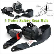 Universal Automatic Retractable Interior Seat Belt 3 Point Lap & Diagonal Belt