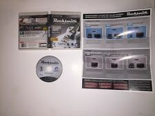 Rocksmith 2014 Edition PlayStation 3 PS3 LIKE NEW COMPLETE Rock Smith Band Music