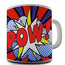 Superhero Pow Funny Design Novelty Gift Tea Coffee Office Ceramic Mug