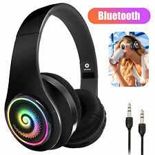3.5mm Bluetooth Anti-Noise Microphone Headphones Stereo Earphones Headset Earbud