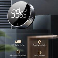 Baseus LED Digital Kitchen Timer For Cooking Shower Study Stopwatch Magnetic