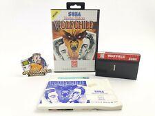 "Sega Master System Jeu ""WOLFCHILD"" neuf dans sa boîte | PAL | MS"