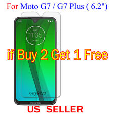 """1x Clear LCD Screen Protector Guard Cover Film For Motorola Moto G7/G7 Plus 6.2"""""""