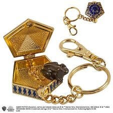Official Harry Potter Chocolate Frog Key Chain Metal Keyring HP Film Gift