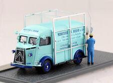 Citroen Typ H Glaser blau Diorama 1:43 Altaya Modellauto