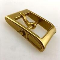 Handmade Brass men's belt buckle classic pin Hippie D-ring DIY Belt Accessories